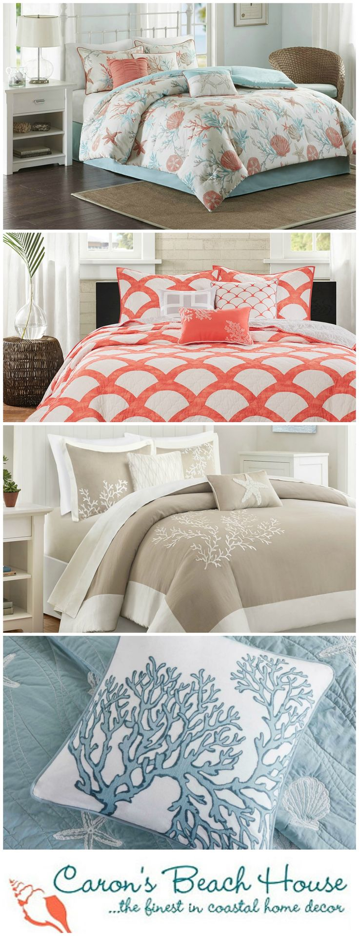 time for a coastal bedroom update for fall add color and cozy warmth