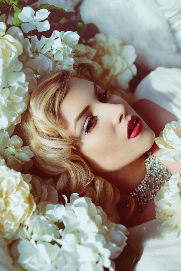 ❀ Flower Maiden Fantasy ❀ beautiful photography of women and flowers - Mikaila Von Merr for Pink Bow City by Audrey Simper