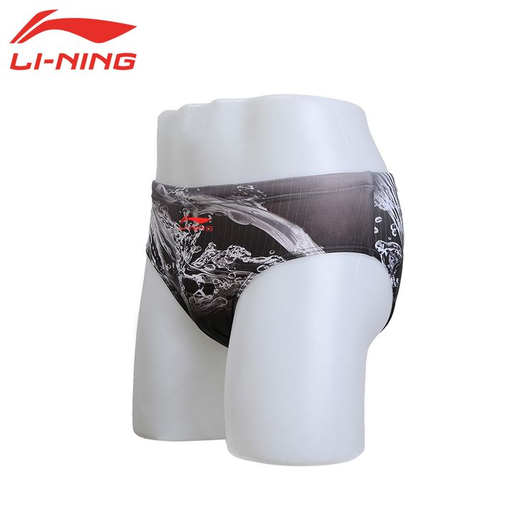 LI-NING Polyester Men Sexy Swim Briefs Quick Dry Male Swimwear Men's Swimsuit Professional Swimming Pants Surf Beachwear LSSL005 #clothing,#shoes,#jewelry,#women,#men,#hats,#watches,#belts,#fashion,#style