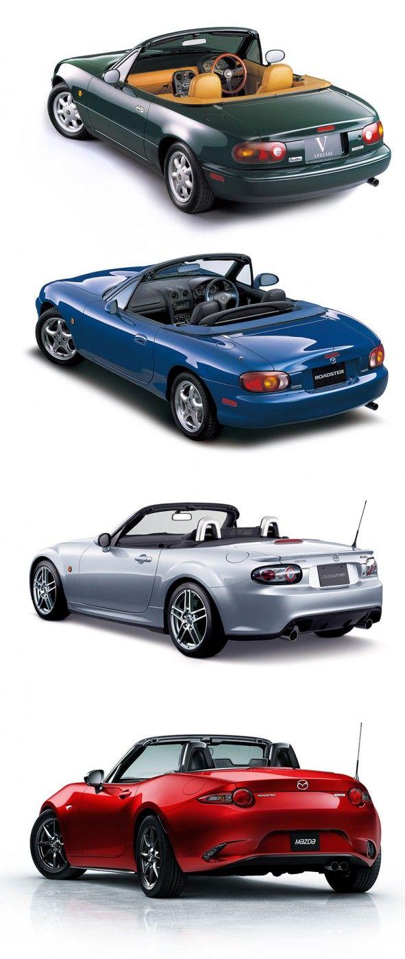 Design Gallery: Mazda MX-5/Miata History