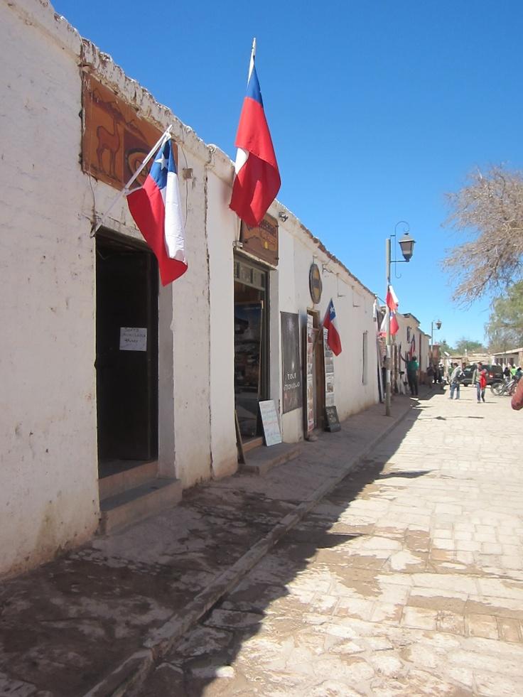 La hermosa arquitectura de San Pedro de Atacama. Foto de Pamela Gallardo Retamales.