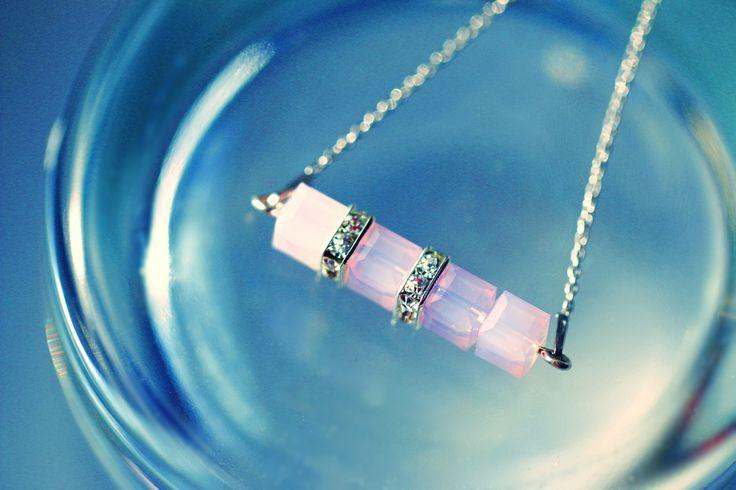 Návod na náhrdelník z korálků Swarovski Elements