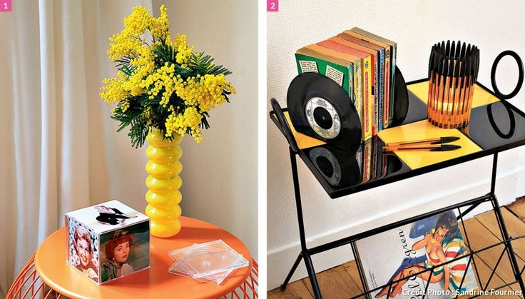 Photophore en stylos, cube photo en boitiers de CDs et cale livre en ...