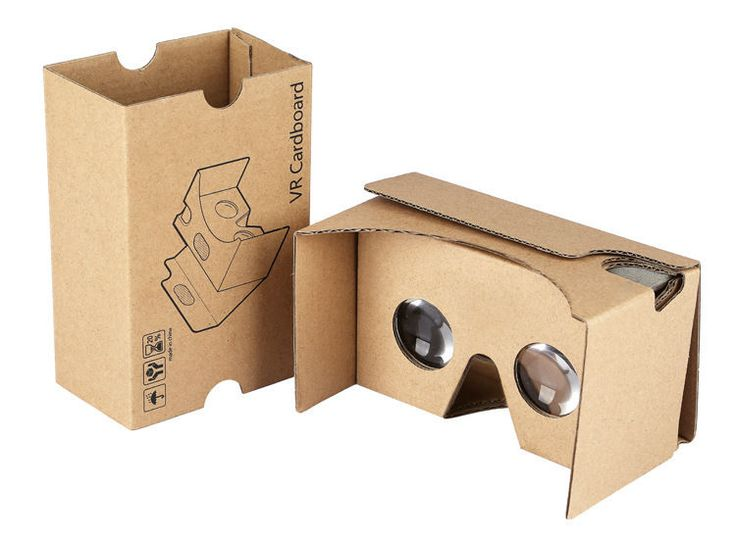 TwinPa®Google Cardboard V2 3D Virtual Reality Headset Big Lens 3D VR Glasses Fit #TwinPa