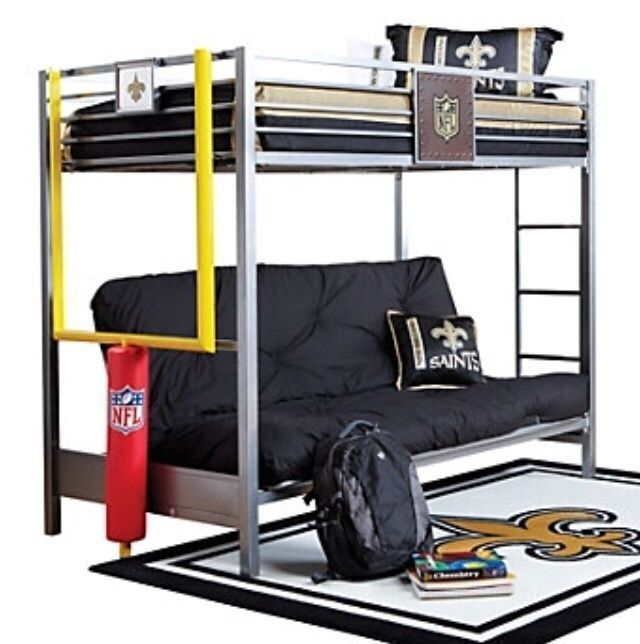 Picture Of NFL Redzone 6 Pc Twin/Futon Loft Bedroom From Boysu0027 Bedroom Sets  Furniture