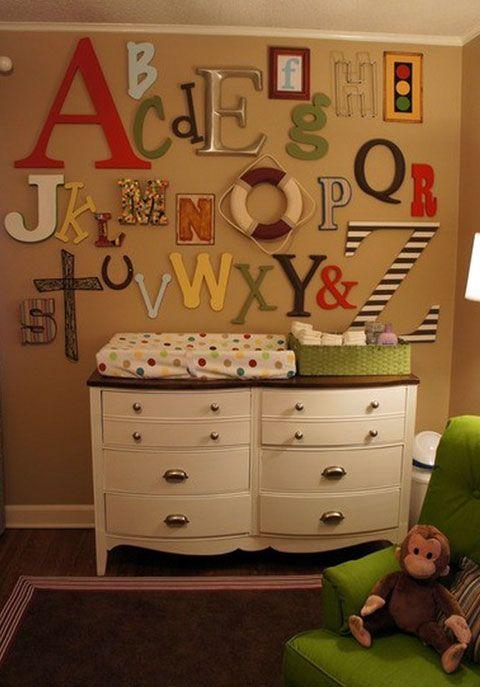 алфавит в детской