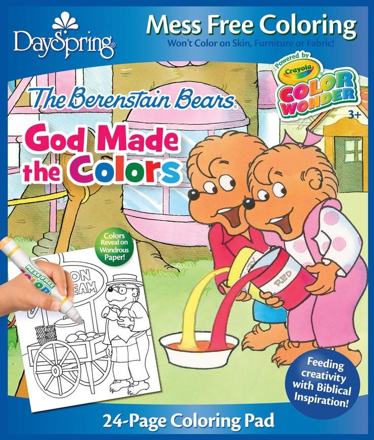crayola color wonder coloring pad the berenstain bears - Berenstain Bears Coloring Book