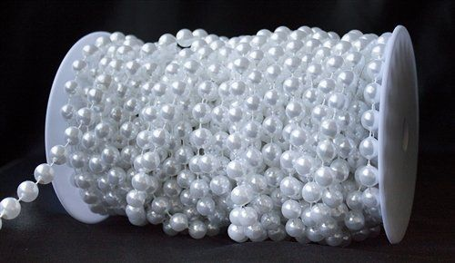 10 mm Large Pearls Faux Crystal Beads by the Roll - White BalsaCircle http://www.amazon.com/dp/B00CRO0T3K/ref=cm_sw_r_pi_dp_y3OTvb1WBC8X3