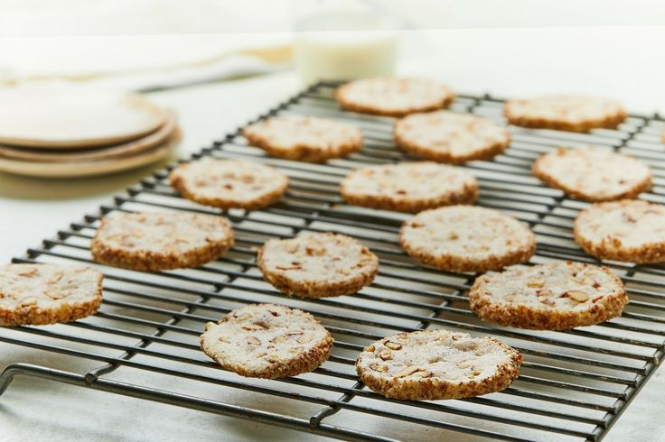 Pecan Cream Cheese Cookies Information about using pecans in recipes for snacks, desserts and more, nutrition data and recent industry news from the National Pecan Shellers Association.