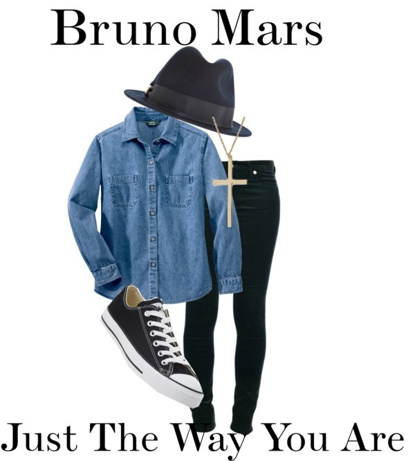 """""""Bruno Mars Just the Way You Are"""" by ebacher on Polyvore"""