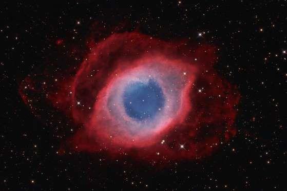 """The Helix Nebula"", la nébuleuse de l'hélice (NGC7293), par David Fitz-Henry. - David Fitz-Henry"