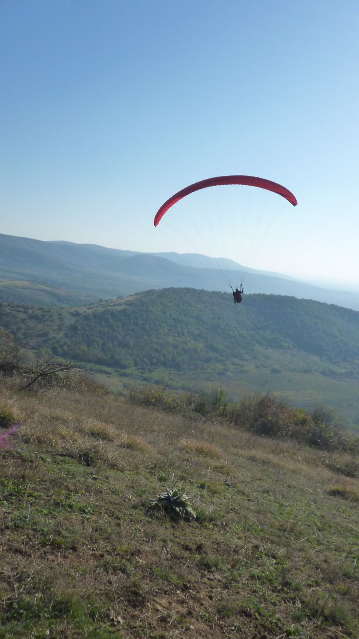 Paragliding at Siria, Romania, Arad