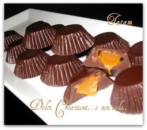 Cioccolatini ripieni alla Crema al Caramello salato | ricetta golosa