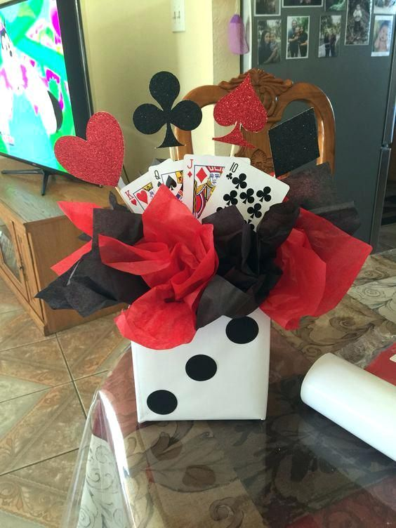 casino themed centerpieces ideas pin by casino world on