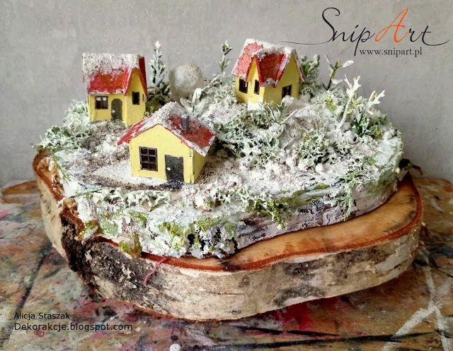 DEKORakcje: Winter scenery - DT SnipArt