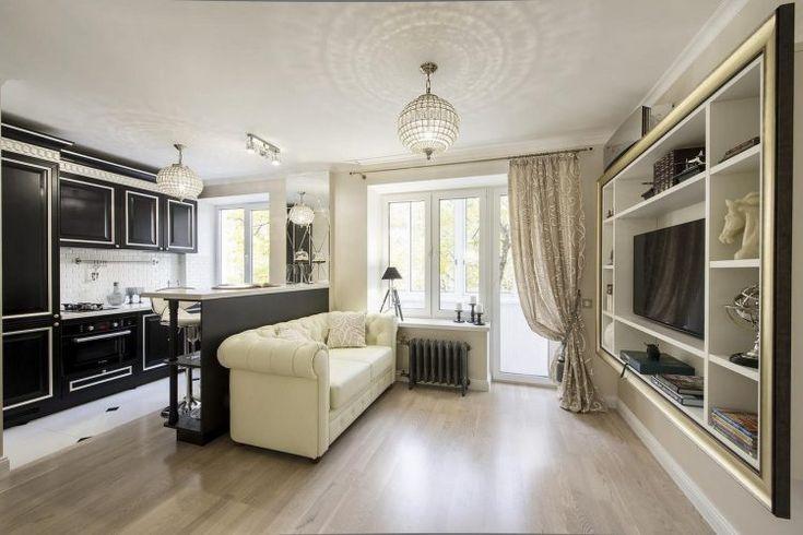 Elegáns lakberendezés 29m2-en - art deco és klasszikus hangulat egy kis lakásban