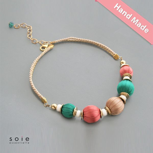 Rjavo smaragdna ogrlica  http://www.ffmoutlet.si/product/Rjavo_smaragdna_ogrlica-400013