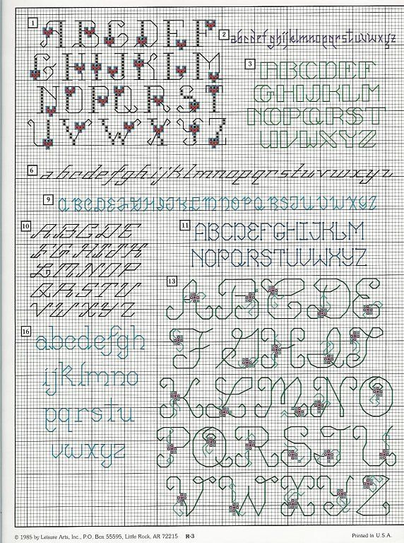 letters patterns free