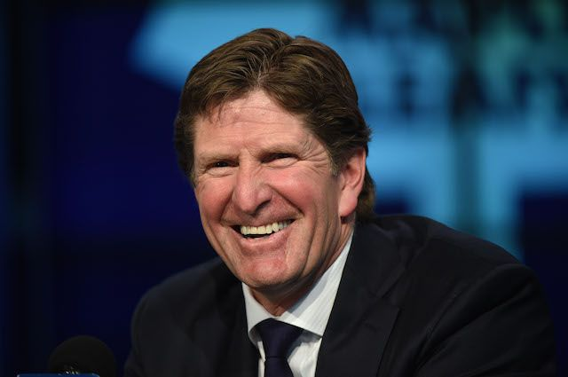 Mike Babcock joined the Toronto Maple Leafs this week. (USATSI)