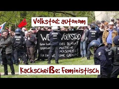 1. Mai 2017: Autonome gegen ein Familienfest der AfD - Faktum Magazin