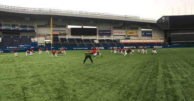 Tokio, Japón (lmb.com.mx/Gabriel Medina) 8 de noviembre.- El equipo mexicano de beisbol cumplió este martes con su primer entrenamiento en J...