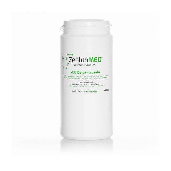 Ζεόλιθος MED® detox κάψουλες – 200 τεμάχια για 33 ημέρες