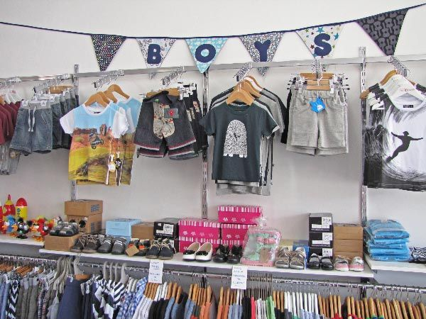 Shore clothing store
