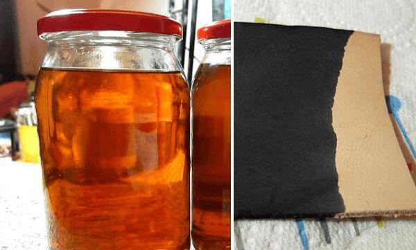 Tinte casero para cuero receta artesanal