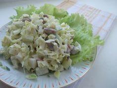 Очень быстрый, вкусный и нежный салат из доступных продуктов. А так как в последнее время (точнее последние пару лет)я просто помешаласьна блюдах с китайской капусточкой, то не приготовить этот с…