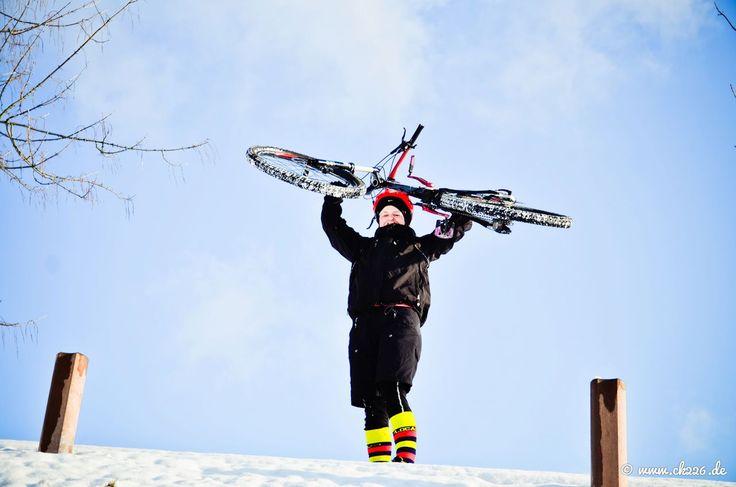 Was machen Biker eigentlich, wenn… Winter ist? (Teil 1) #Bike #Winter #Fahrrad