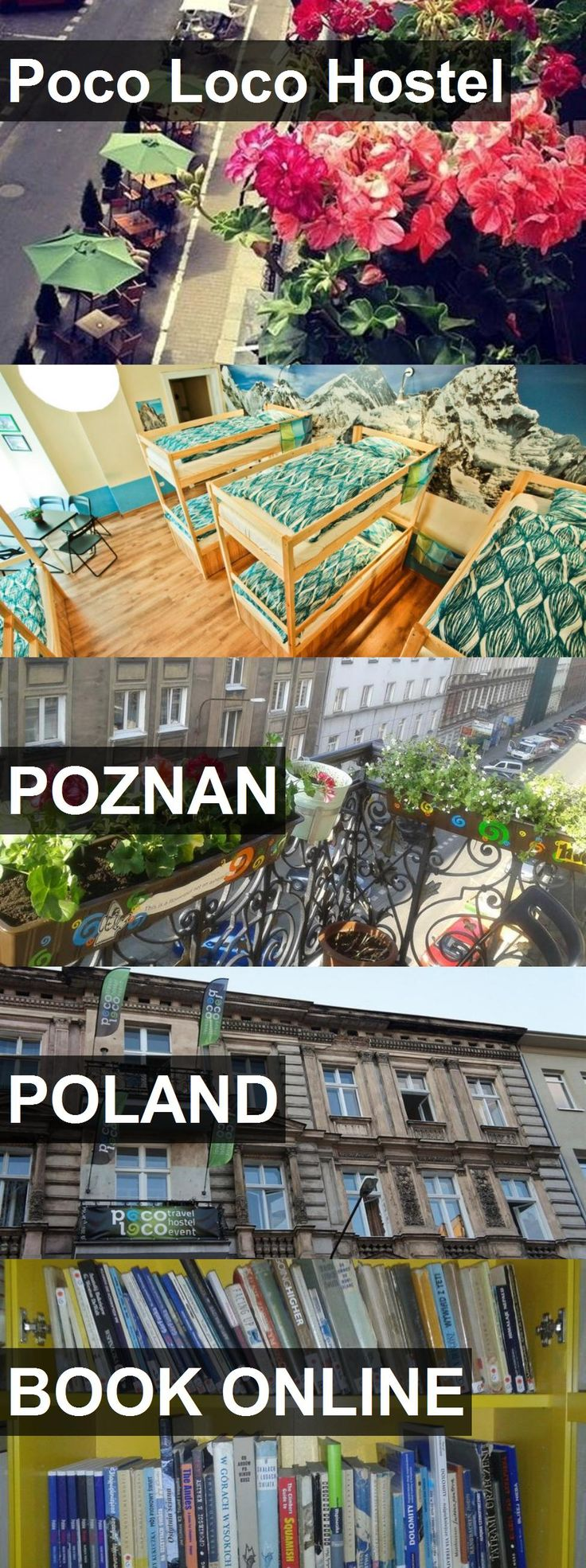 Hotel Poco Loco Hostel in POZNAN, Poland. For more information, photos, reviews and best prices please follow the link. #Poland #POZNAN #hotel #travel #vacation