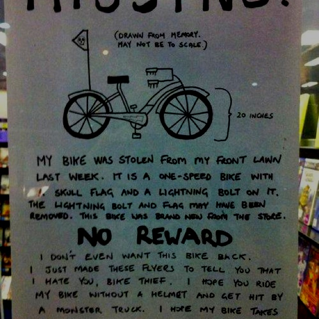 HahaLaugh, Hells, Funny Pictures, Bikes Thief, Funny Stuff, Humor, Hilarious, So Funny, Giggles
