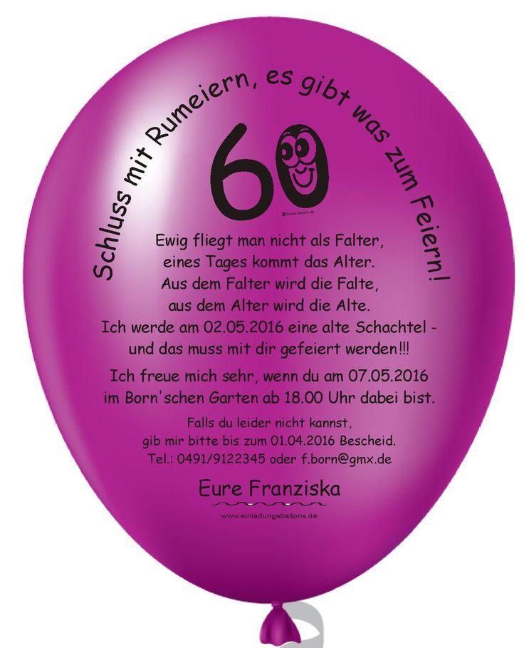 Einladungskarte Geburtstag Einladungskarte Geburtstag: Die Besten 25+ Einladungskarten 60. Geburtstag Ideen Auf
