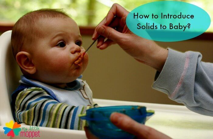 How to introduce solids to baby