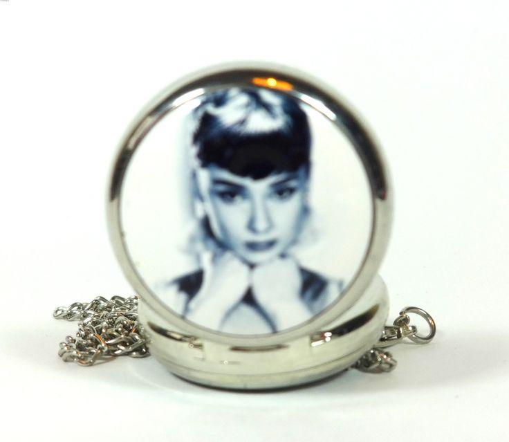 Zegarek Naszyjnik Audrey Hepburn