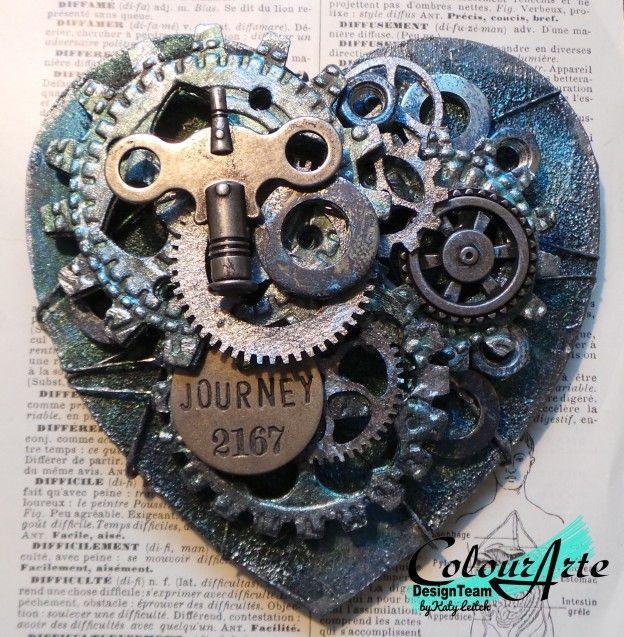 Steampunk heart by Cathy