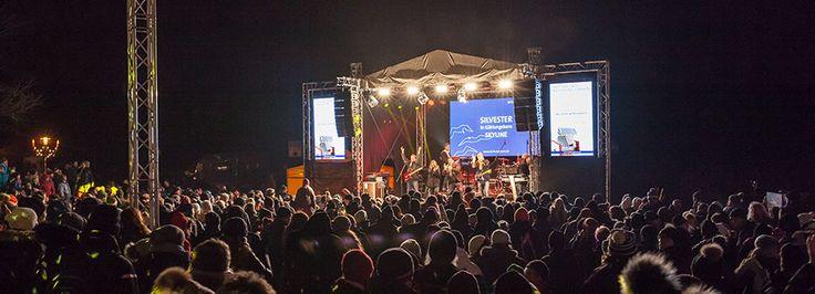 Silvester in Kühlungsborn an der Ostsee Live Musik und Programm