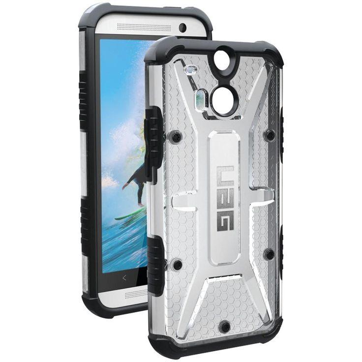 Urban Armor Gear Htc One (m8) Composite Case (maverick Ice)