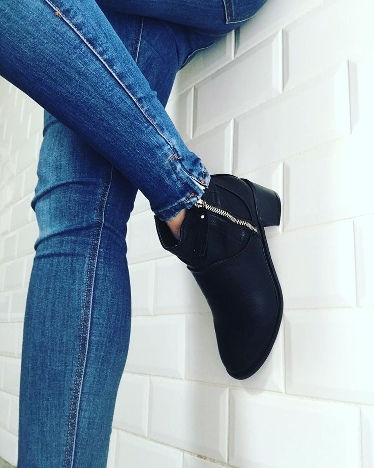 Get your black ankle boots and jeans with other winter essentials at www.contemporetail.co.za