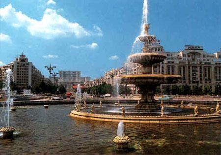 Downtown Bucharest!