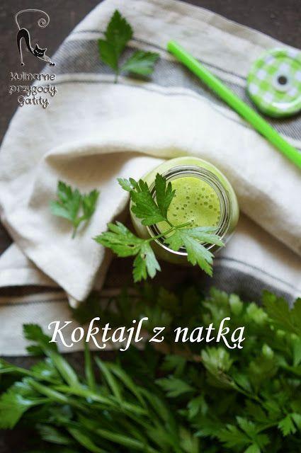 Kulinarne przygody Gatity: Koktajl ananasowy z natką pietruszki