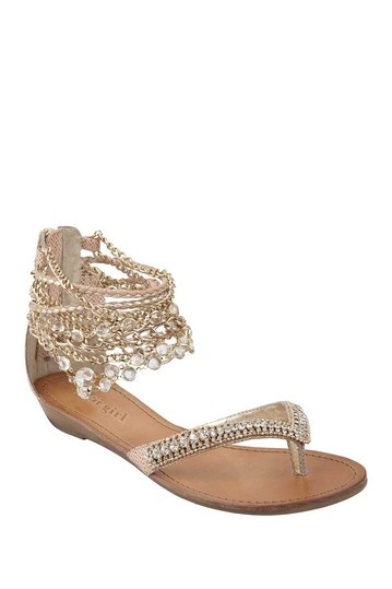 ZIGIny Marla Embellished Sandal by Shoe Madness on @HauteLook