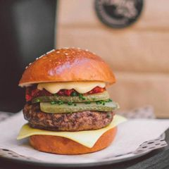 Chur Burger - A takeaway hole in the wall feeds Surry Hill's hungry lunch crowd.