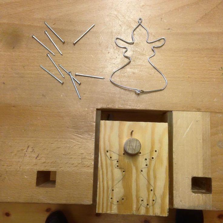 39 best Luffarslöjd images on Pinterest   Wire crafts, Wire and Wire art