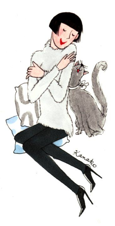 Mon chat et moouaaah