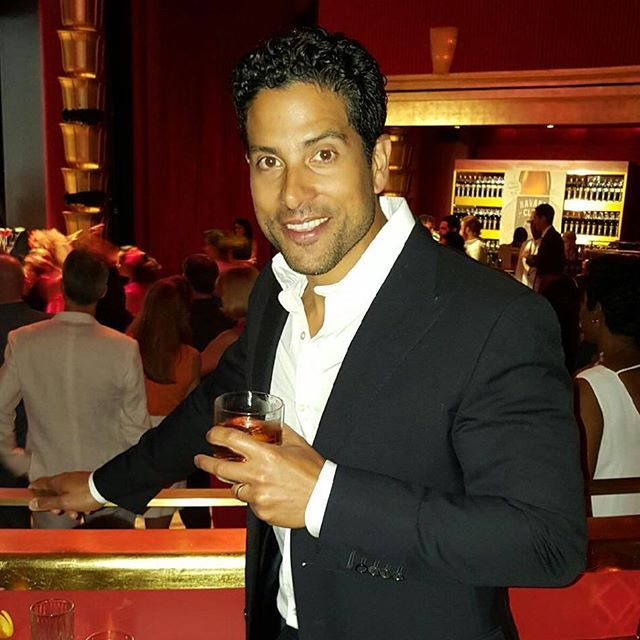 Pin for Later: All the Times Adam Rodriguez Was the Hot Guy of Your Dreams When He Put the Dos Equis Guy to Shame With This Cocktail Pose