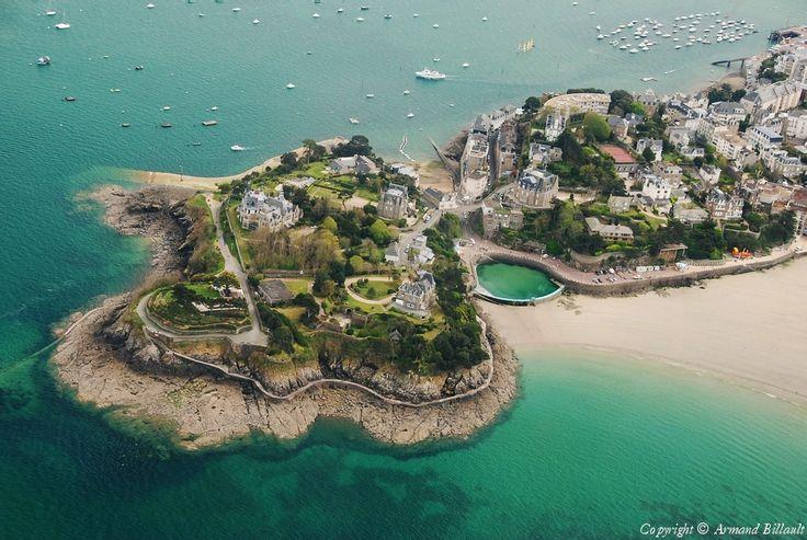 Photo aérienne de : Dinard - Ille-et-Vilaine (35)