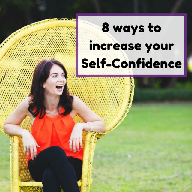 Are you struggling with your self-confidence? In this article, I share 8 simple ways in which you can start to increase your confidence and self-belief.