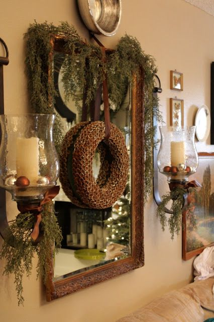 17 Best Images About Decor Mirror Amp Wreath On Pinterest
