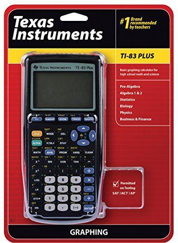 cool Amazon Books - Texas Instruments TI-83 Plus Graphing Calculator #Amazon #Books